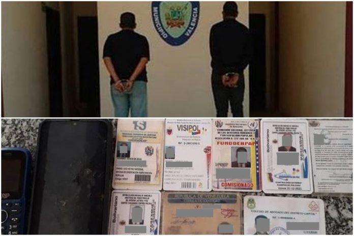 Detienen a falsos funcionarios del Ministerio Público
