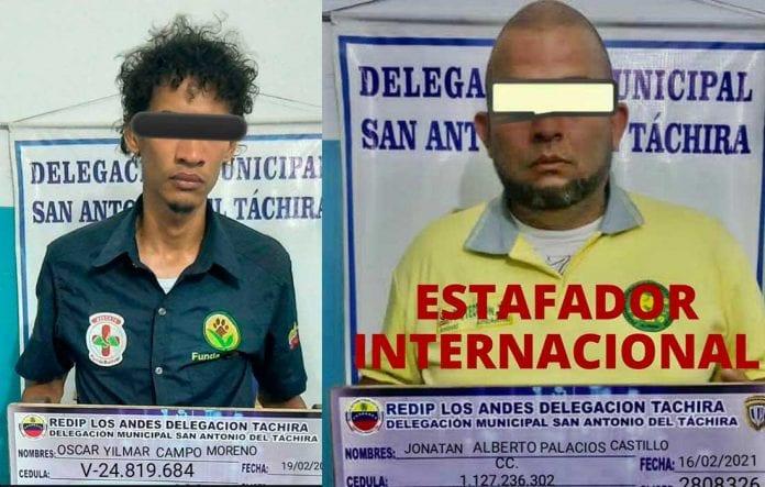 Detienen tres personas estafaban ONG FundaBolívar - Detienen tres personas estafaban ONG FundaBolívar