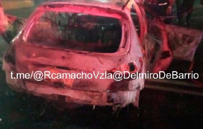 Incendio de vehículo túnel de Boquerón - Incendio de vehículo túnel de Boquerón