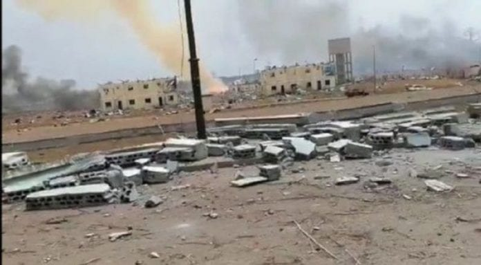 Explosiones en Bata Guinea Ecuatorial - Explosiones en Bata Guinea Ecuatorial