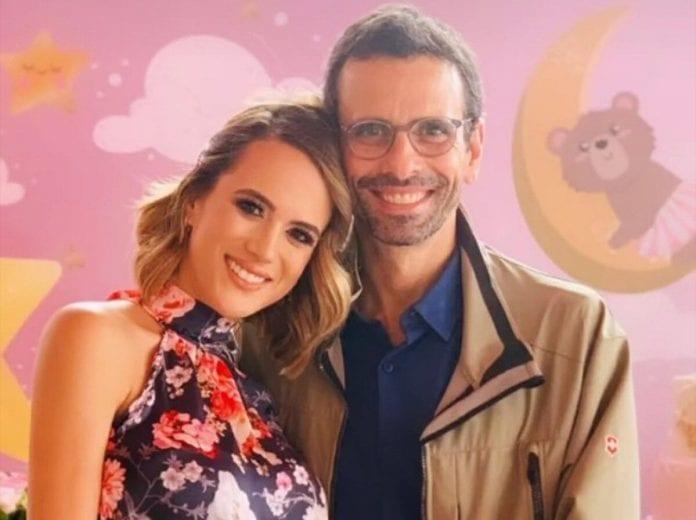 Henrique Capriles y Valeria Valle serán padres