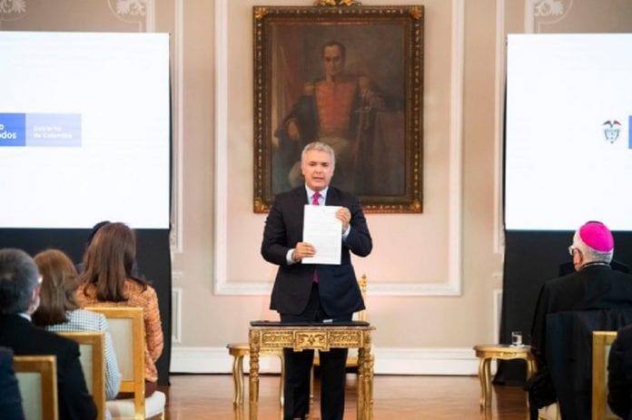 Iván Duque firmó decreto de Estatuto Temporal - Iván Duque firmó decreto de Estatuto Temporal
