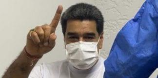 Nicolás Maduro se vacunó - Nicolás Maduro se vacunó