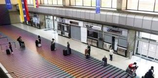 Pruebas PCR en el aeropuerto de Maiquetía