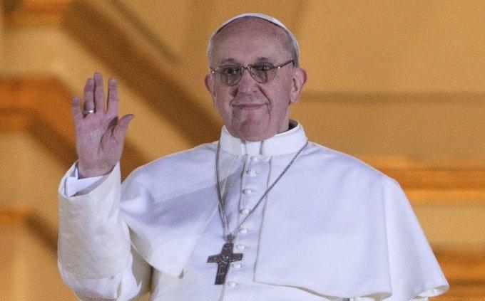 Papa Francisco cumple 8 años