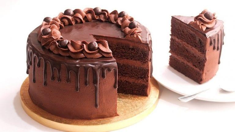 Un delicioso pastel de chocolate para calmar el desamor