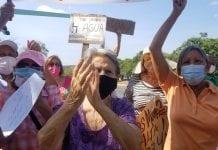 Protestaron San Diego y Puerto Cabello por agua - Protestaron San Diego y Puerto Cabello por agua