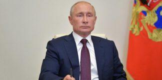 Vladímir Putin se vacuna contra el Covid-19