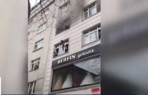 incendio en Estambul - incendio en Estambul