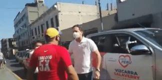 Venezolano increpó a Daniel Salaverry - Venezolano increpó a Daniel Salaverry