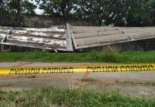 Techo colapsado en la UCV reparar - Techo colapsado en la UCV reparar
