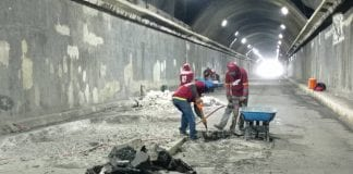 Trabajos del Túnel La Cabrera - Trabajos del Túnel La Cabrera