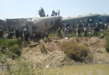 Accidente ferroviario en Egipto - Accidente ferroviario en Egipto