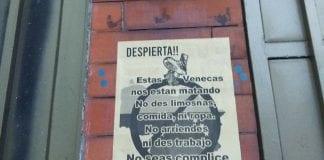 Panfletos xenófobos en Bogotá - Panfletos xenófobos en Bogotá