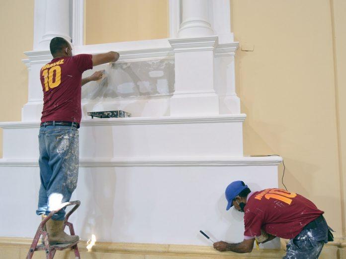 Restauran integralmente iglesia San Francisco - Restauran integralmente iglesia San Francisco