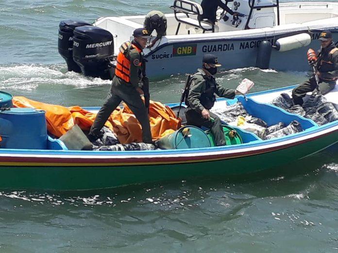 Incautaron más de 1.1 toneladas de cocaína en la Península de Araya