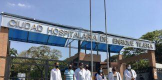 Trabajadores del sector salud en Carabobo