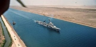 atascados 200 barcos en el canal de Suez - atascados 200 barcos en el canal de Suez