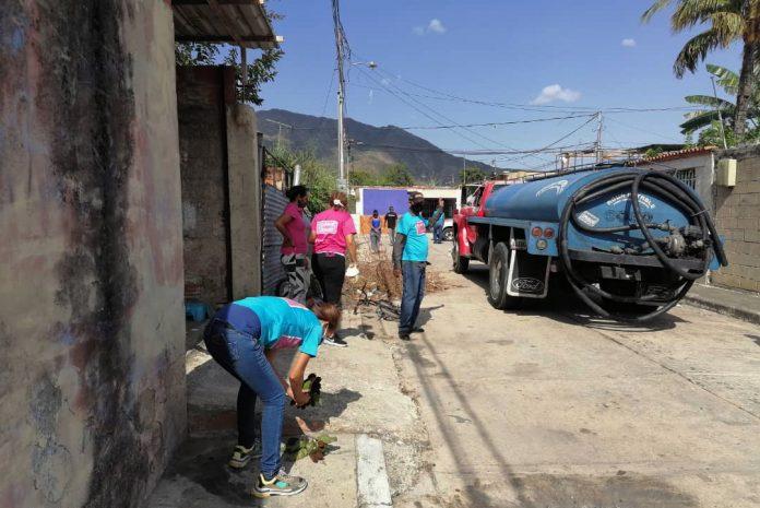 Distribución de agua potable en Naguanagua