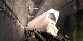 Se descarrilló un tren en túnel de Taiwán - Se descarrilló un tren en túnel de Taiwán