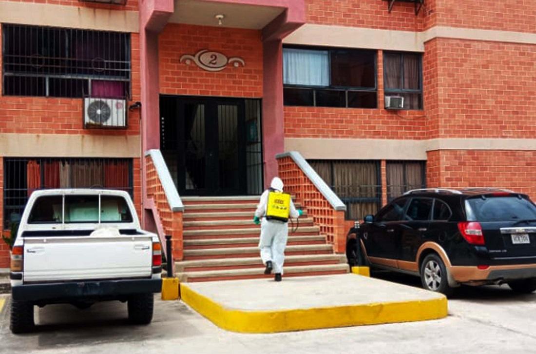 Sureste de Naguanagua desinfectaron espacios - Sureste de Naguanagua desinfectaron espacios