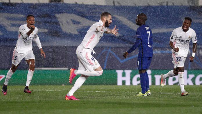 Real Madrid empató con el Chelsea