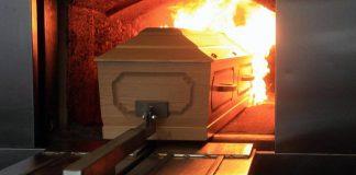 Cremación para un fallecido por Covid-19 en Carabobo