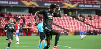 Granada FC perdió ante el Manchester United europa league