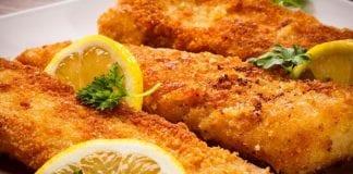 Filete de pescado frito - Filete de pescado frito