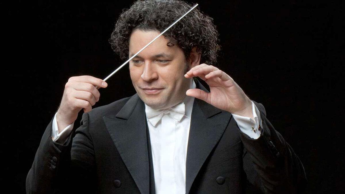 Gustavo Dudamel - director de orquesta