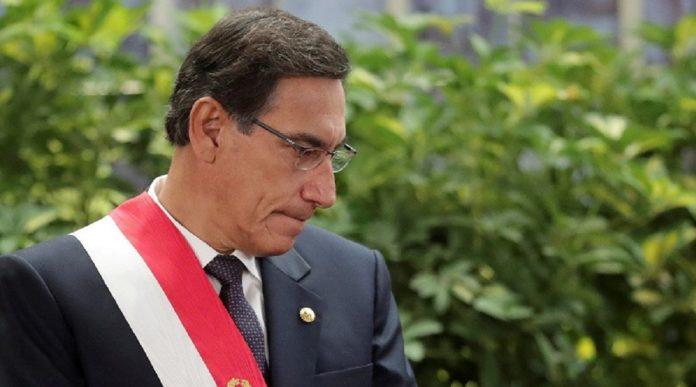 Congreso de Perú aprueba para inhabilitar a Martín Vizcarra - Congreso de Perú aprueba para inhabilitar a Martín Vizcarra