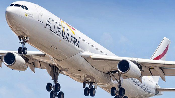 Plus Ultra reanudará sus vuelos a Venezuela