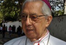 Falleció Arzobispo Emérito de Barquisimeto