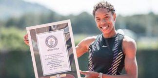 Yulimar Rojas recibió el Guinnes World Records salto triple