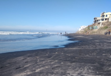 Cierran playa en California