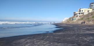 Cierran playa en California