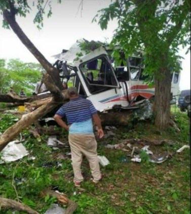 Accidente de tránsito en Lara-Zulia