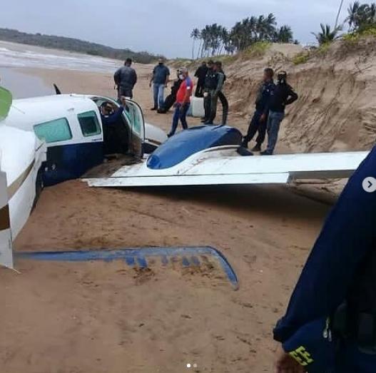 Cayó avioneta en Falcón