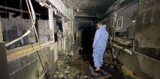 Explosión de cilindros de oxígeno en hospital en Bagdad