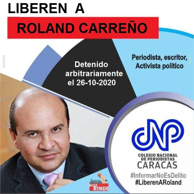 Liberación de Roland Carreño - Liberación de Roland Carreño
