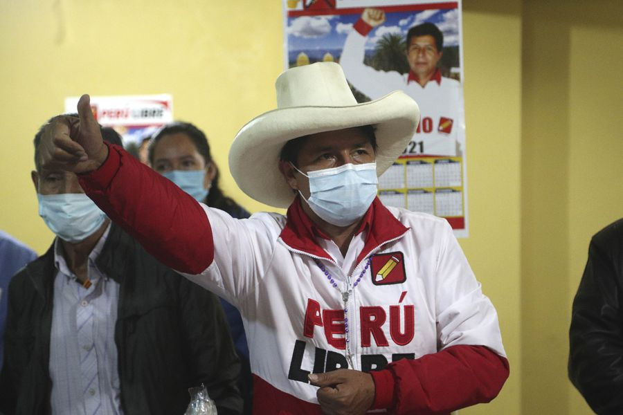 Perú, Lima, Pedro Castillo, Salud de Pedro Castillo, Keiko Fujimori, Elecciones en Perú, Candidatos de Perú, Chile, 30 de Abril, 6 de Junio