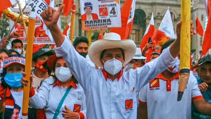 Candidato Pedro Castillo - Candidato Pedro Castillo
