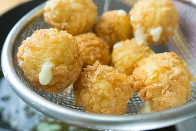 croquetas de arroz