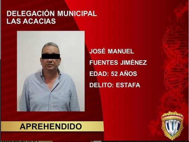CICPC, Douglas Rico, Sucesos, Noticias en Carabobo, Noticias de Carabobo, Noticias24Carabobo, Noticias de Venezuela, Valencia, Las Acacias, José Manuel Fuentes Jiménez (52)