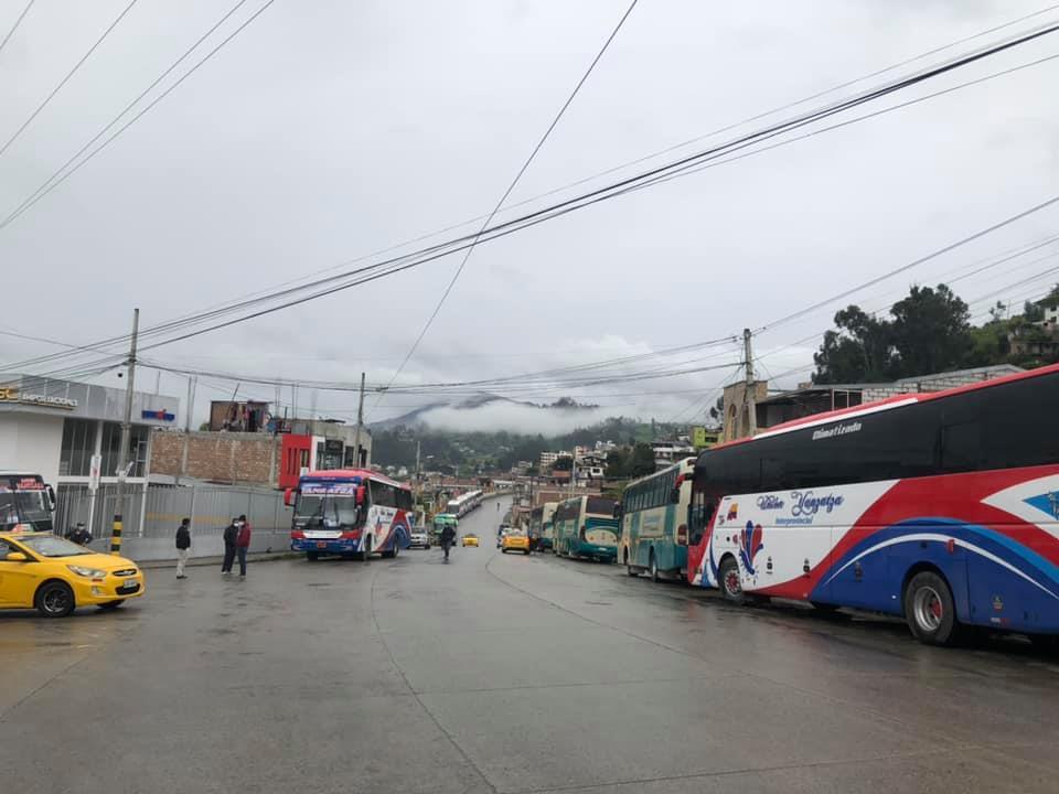 Paro de transporte en Ecuador - Paro de transporte en Ecuador