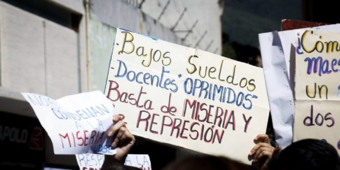 Trabajadores de salud y docentes exigieron incremento salarial - Trabajadores de salud y docentes exigieron incremento salarial