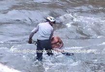 Hombre en el Río Guaire - Hombre en el Río Guaire