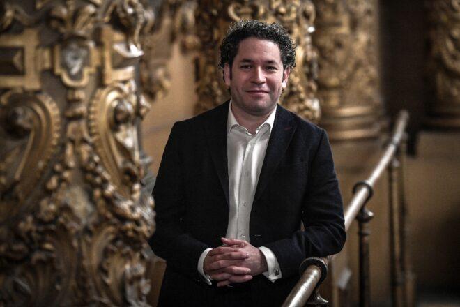 Gustavo Dudamel es el director musical de la Ópera de París