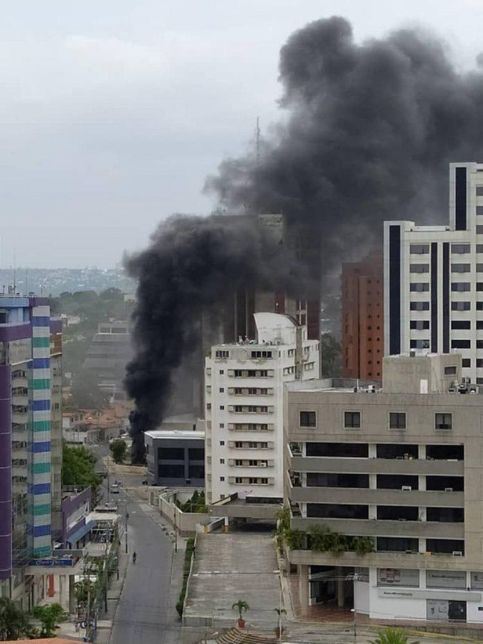 Incendio en Torre Millenium de Barquisimeto - Incendio en Torre Millenium de Barquisimeto