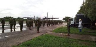 90 infantes de Marina llegan a Arauca - 90 infantes de Marina llegan a Arauca